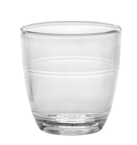 Duralex - Gigogne Clear Tumbler 90 ml (3 1/8 oz)  Set Of 6