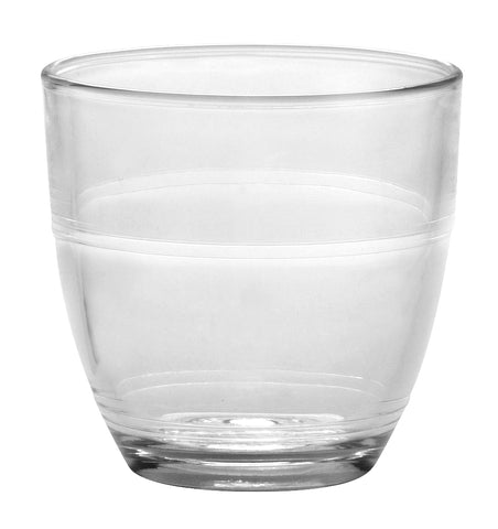 Duralex - Gigogne Clear Tumbler 160 ml (5 5/8 oz)  Set Of 6