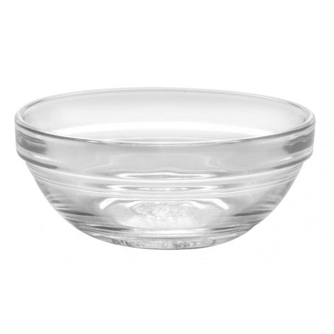 Image of Duralex - Lys Stackable Clear Bowl 7.5 cm (3 in.) Set of 4