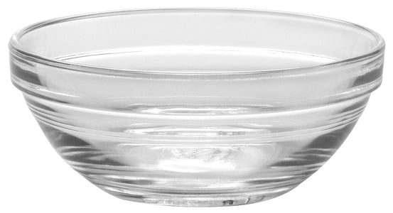 Duralex - Lys Stackable Clear Bowl 10,5 cm (4 1-8 in)  Set Of 6