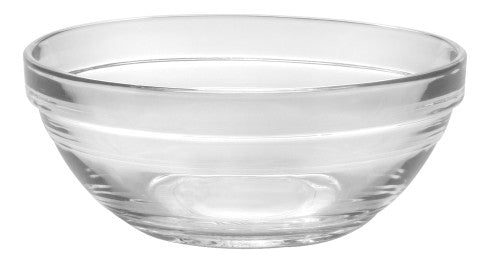 Duralex - Lys Stackable Clear Bowl 14 cm (5 1/2 in) Set Of 6