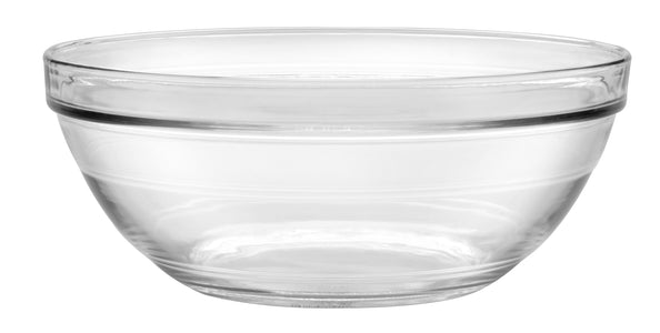 Duralex - Lys Stackable Clear Bowl 26 cm (10 1-4 in) Set Of 6