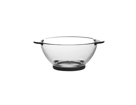 Duralex - Mini Multipurpose Lys Clear Glass Bowl with Handles, 17 oz. Set of 6