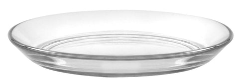 Duralex - Lys Clear Club Plate 13,5 cm (5 3-8 in)  Set Of 6