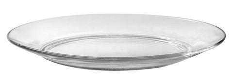 Image of Duralex - Lys Clear Dinner Plate 23,5 cm (9 1-4 in)  Set Of 6