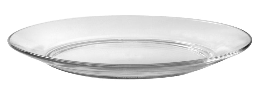 Duralex - Lys Clear Dinner Plate 23,5 cm (9 1-4 in)  Set Of 6