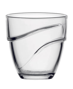 Duralex - Wave Clear Tumbler 22 cl (7 3/4 oz) S/4