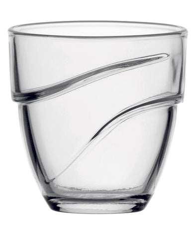 Image of Duralex - Wave Clear Tumbler 27 cl (8 oz) S/6