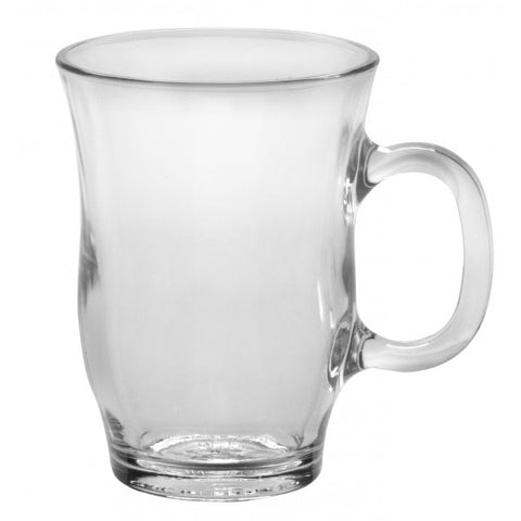 Duralex - Eiffel Clear Mug 250 ml (8 3/4oz.) Set Of 6