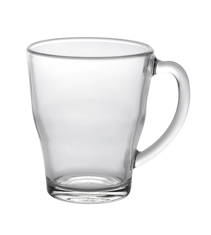 Image of Duralex - Cosy Clear Glass Mug 350 ml (12 3/8 oz.) Set of 6