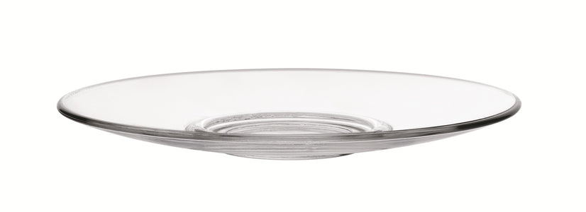 Duralex - Caprice Clear Glass Saucer 14cm. ( 5 1/2 in. ) Set of 6