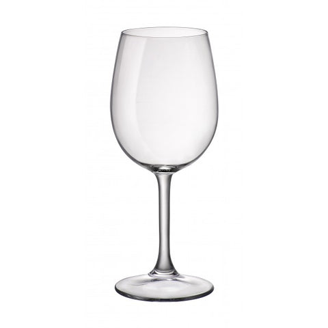 Image of Duralex - Amboise Clear Glass Stemmed Large Burgundy Wine Glass (435ml) 14.5 oz. Set of 12