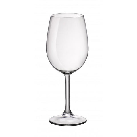 Image of Duralex - Amboise Clear Glass Stemmed Water or Wine Glass (360ml) 12 oz. Set of 12