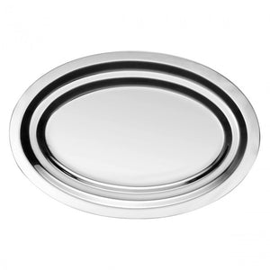 Guy Degrenne - Newport Oval Dish, Stainless Steel, 41.5cm.