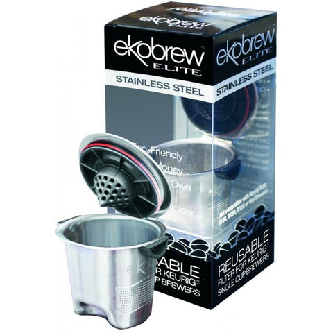 Image of Ekobrew - Stainless Steel Elite Refillable K-Cup for Keurig and Ekobrew Brewers