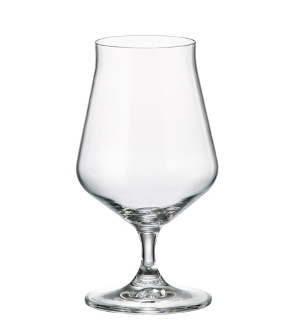 Crystalite Bohemia Alca Lead Free Crystal Wine Glasses Stemware Collection, Sets of 6