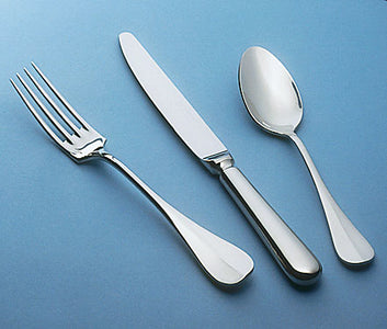 Guy Degrenne - Beau Manoir 5 Piece Flatware Set, Stainless Steel Mirror Finish Cutlery
