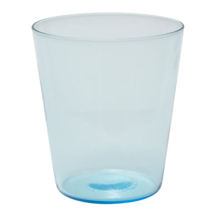 Brilliant - Boho Ocean Blue Glass Tumbler 12oz. Set of 4