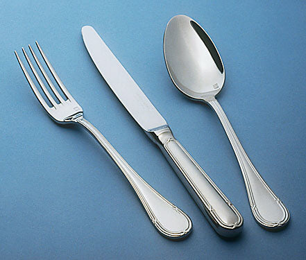Image of Guy Degrenne - Florencia 5 Piece Flatware Set, Stainless Steel Mirror Finish Cutlery