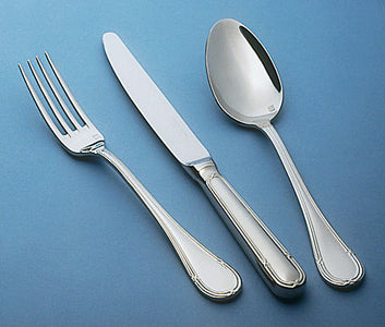 Guy Degrenne - Florencia 5 Piece Flatware Set, Stainless Steel Mirror Finish Cutlery