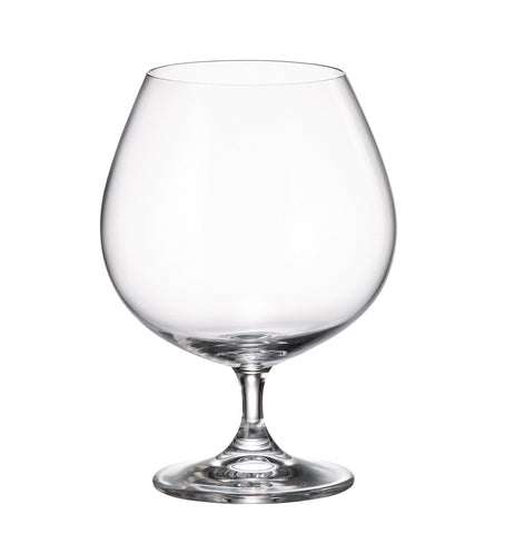 Gastro Brandy and Cognac Balloon Glass 23.3 Ounces, Set of 6