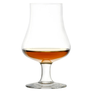 Brilliant - Highland Tasting and Nosing Scotch Glass on a Short Stem, 6.75oz. in Gift Box