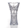Pinwheel Crystal Vase, 12 Inches