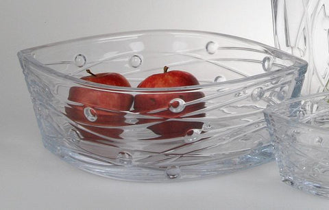 Labyrinth Bowl 30.5cm by Bohemia