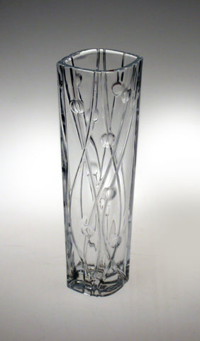 Labyrinth Vase 30.5cm by Bohemia