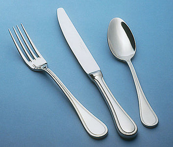 Guy Degrenne - Milady 5 Piece Flatware Set, Stainless Steel Mirror Finish Cutlery