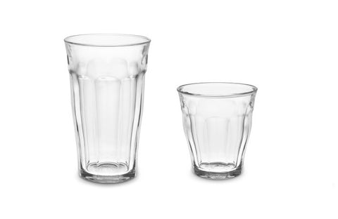 Image of Duralex - Picaride Glass Clear Tumblers 12 Piece Set