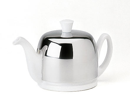 Salam White 2 Cup Tea Pot by Guy Degrenne
