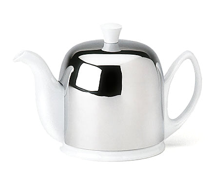 Image of Salam White 6 Cup Teapot by Guy Degrenne