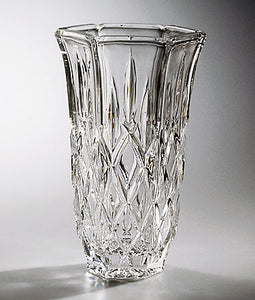 Crystal Vase - Shannon - 6.75 inches