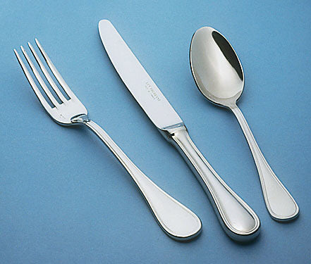 Guy Degrenne - Verlaine 5 Piece Flatware Set, Stainless Steel Mirror Finish Cutlery