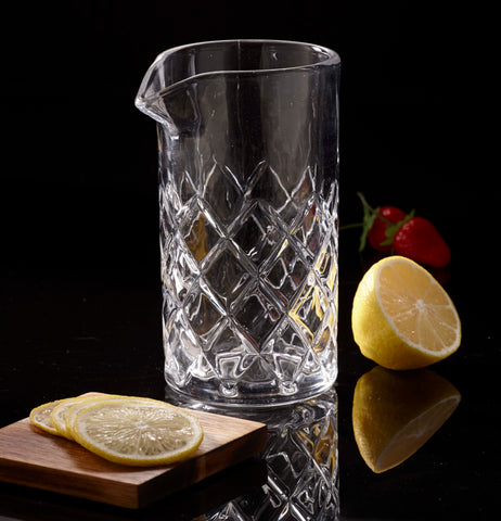 Image of Manhattan Mixology Cocktail Mixing Glass, 20 Ounces