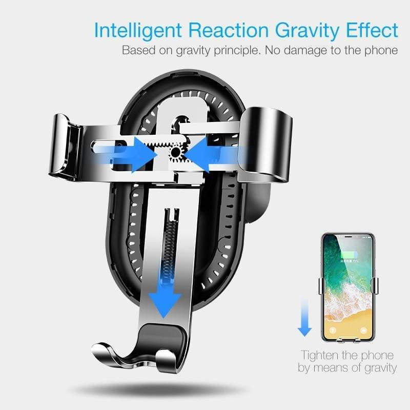 Cafele Car Phone Holder Gravity Automatic Locking Technology Holder for Phone in Car Air Vent Car Mount Phone Holder - Worldwide Shipper