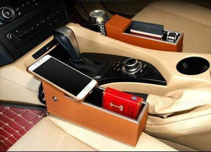 Car Pocket Organizer With Qi Wireless Charger - Worldwide Shipper
