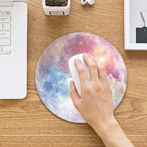 Galaxy Moon Mouse Pad - Worldwide Shipper