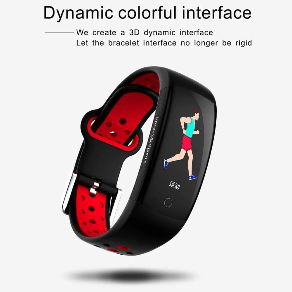 LEMFO 0.96 Inch 3D Color LCD Screen Professional Sport Smart Band IP68 Waterproof GPS Fitness Activity Tracker Pedometer - Worldwide Shipper