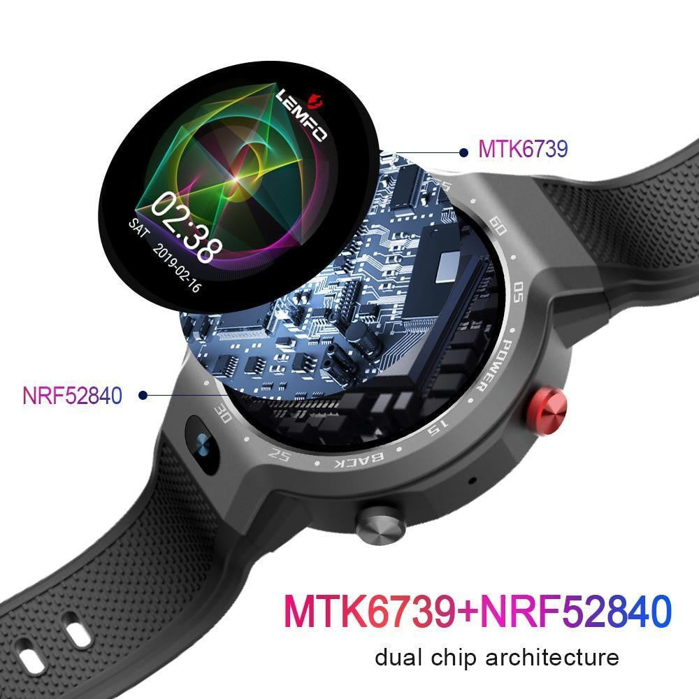 LEMFO LEM9 Dual Systems 4G Smart Watch - Worldwide Shipper