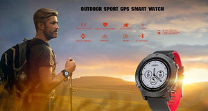 LEMFO LES3 GPS Smart Watch Men IP68 Waterproof Heart Rate Monitor Professional Sport Modes Outdoor Smartwatch For Android IOS - Worldwide Shipper