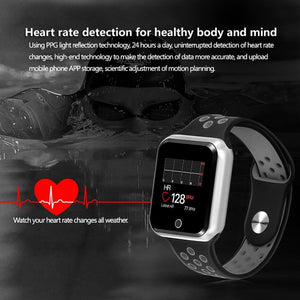 LEMFO Smart watch Pedometer Heart Rate Blood Pressure Monitor Smartwatch IP 67 Waterproof Smart Watches for Men Women - Worldwide Shipper