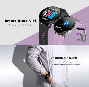 LEMFO Smartwatch Real-time Heart Rate Blood Pressure Monitor Multi-sport mode Breathing Light Smart Watch for Android IOS Phone - Worldwide Shipper