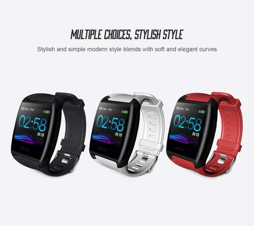 LEMFO V2 1.3 Inch Smart Fitness Bracelet IP67 Waterproof Fitness Tracker Heart Rate Blood Pressure Watch Band Activity Tracker - Worldwide Shipper