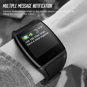 LEMFO V2 1.3 Inch Smart Fitness Bracelet IP67 Waterproof Fitness Tracker Heart Rate Blood Pressure Watch Band Activity Tracker