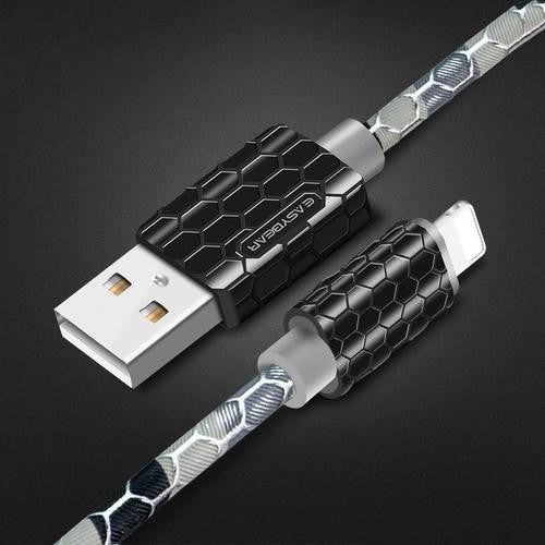 Snake Armour Lightning Cable - Worldwide Shipper