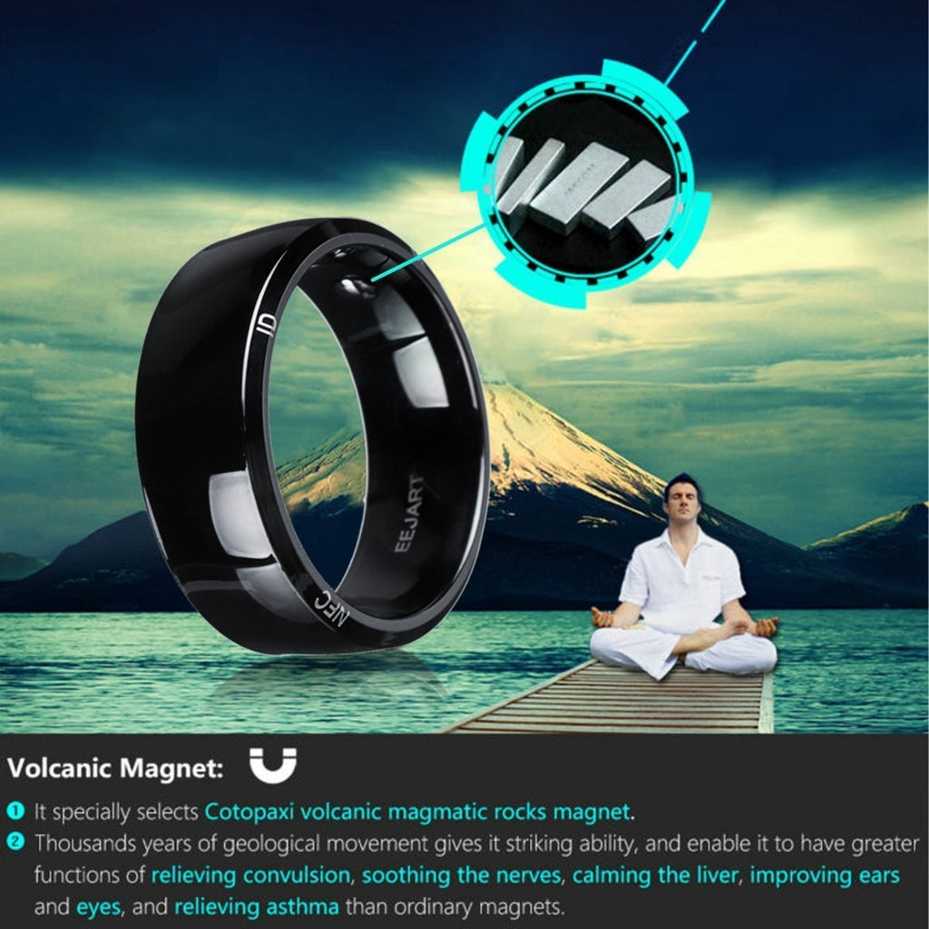 Waterproof Unlock Health Protection Smart Ring Wear - Worldwide Shipper