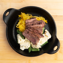 Load image into Gallery viewer, Grilled Steak with Cauliflower & Squash