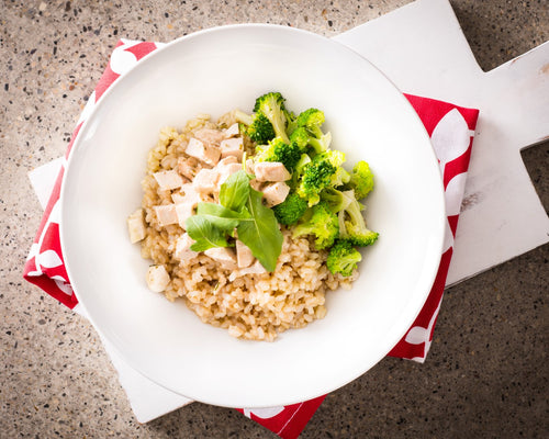 Chicken Broccoli Brown Rice